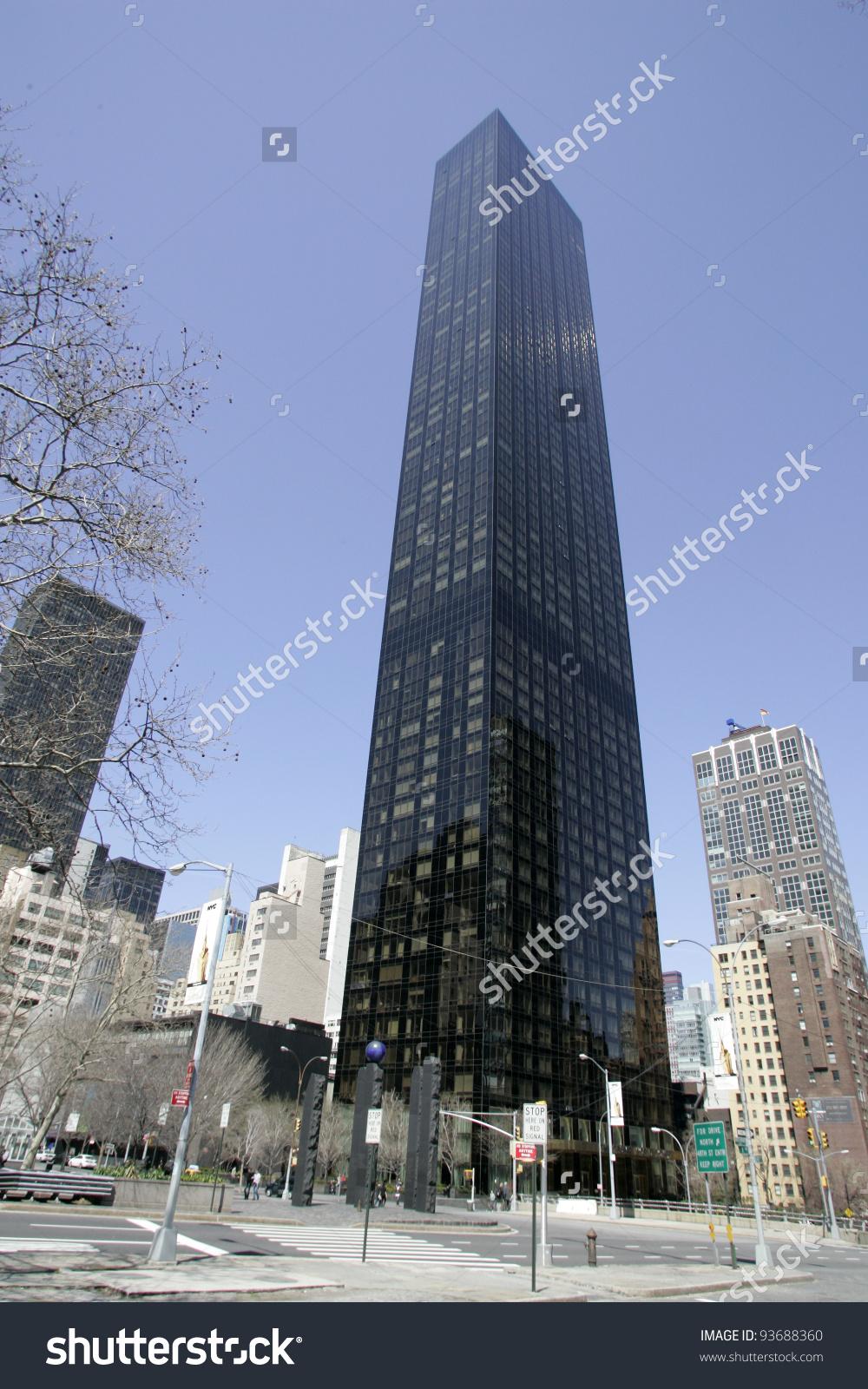 New York Apr 5 Trump World Stock Photo 93688360.