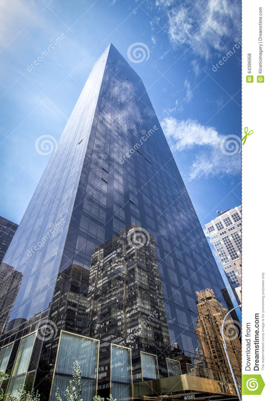 Trump World Tower Editorial Stock Photo.