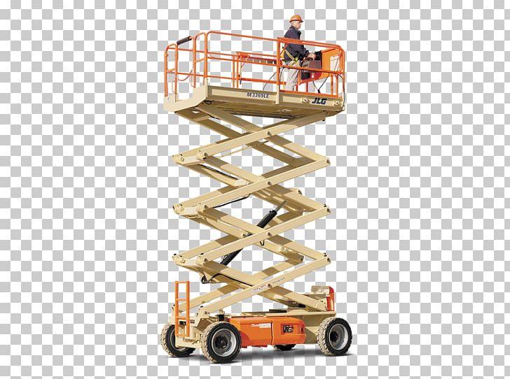 Aerial Work Platform JLG Industries Elevator Heavy Machinery.