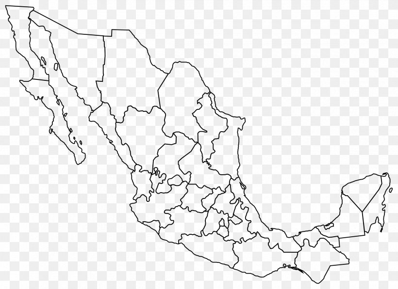 Mexico United States Blank Map Clip Art, PNG, 2400x1749px.