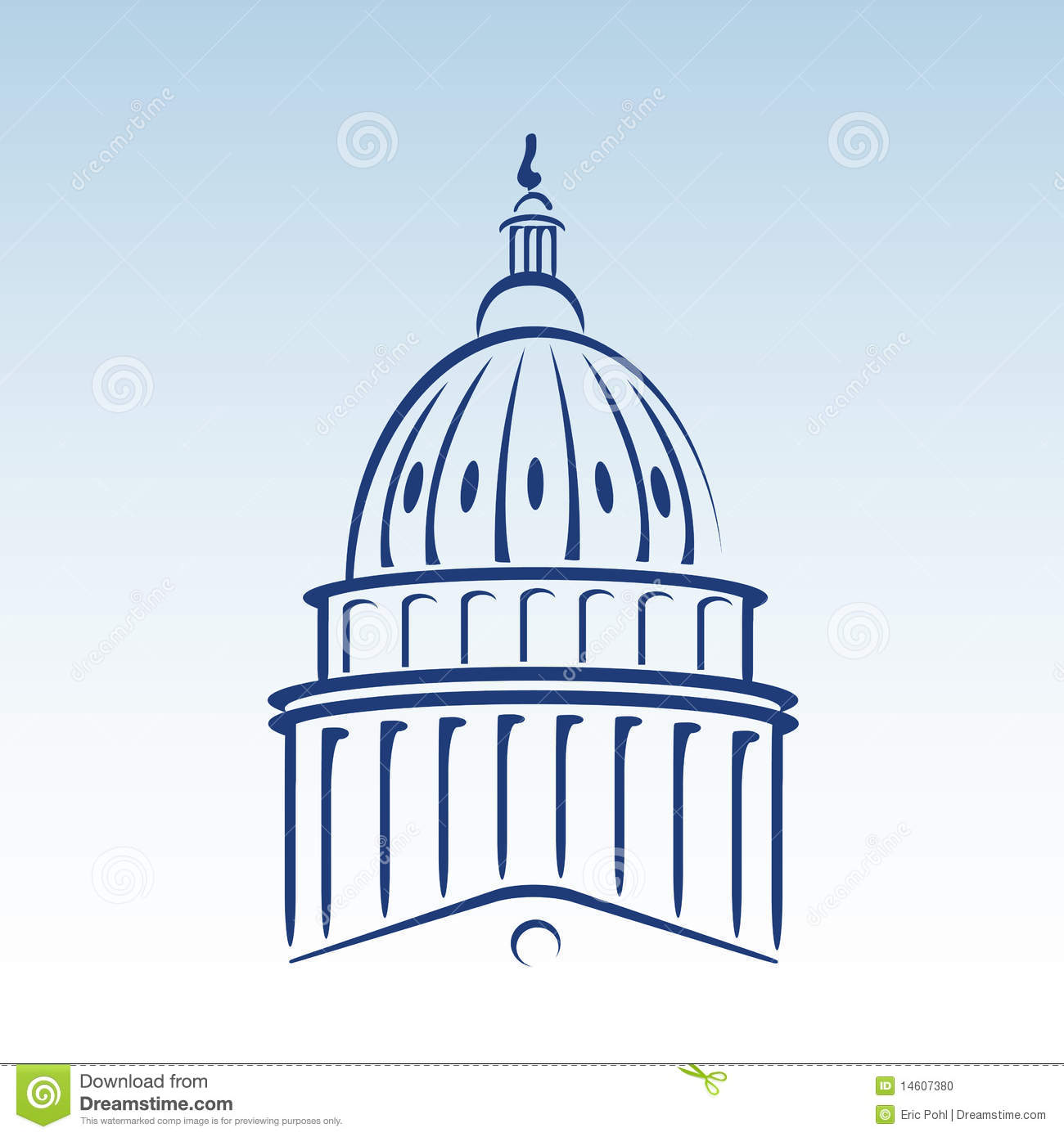 United States Capitol Clipart Clipground