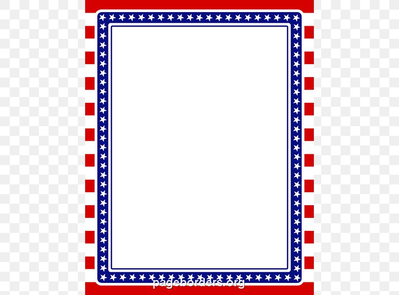 Flag Of The United States Border Clip Art, PNG, 470x608px.