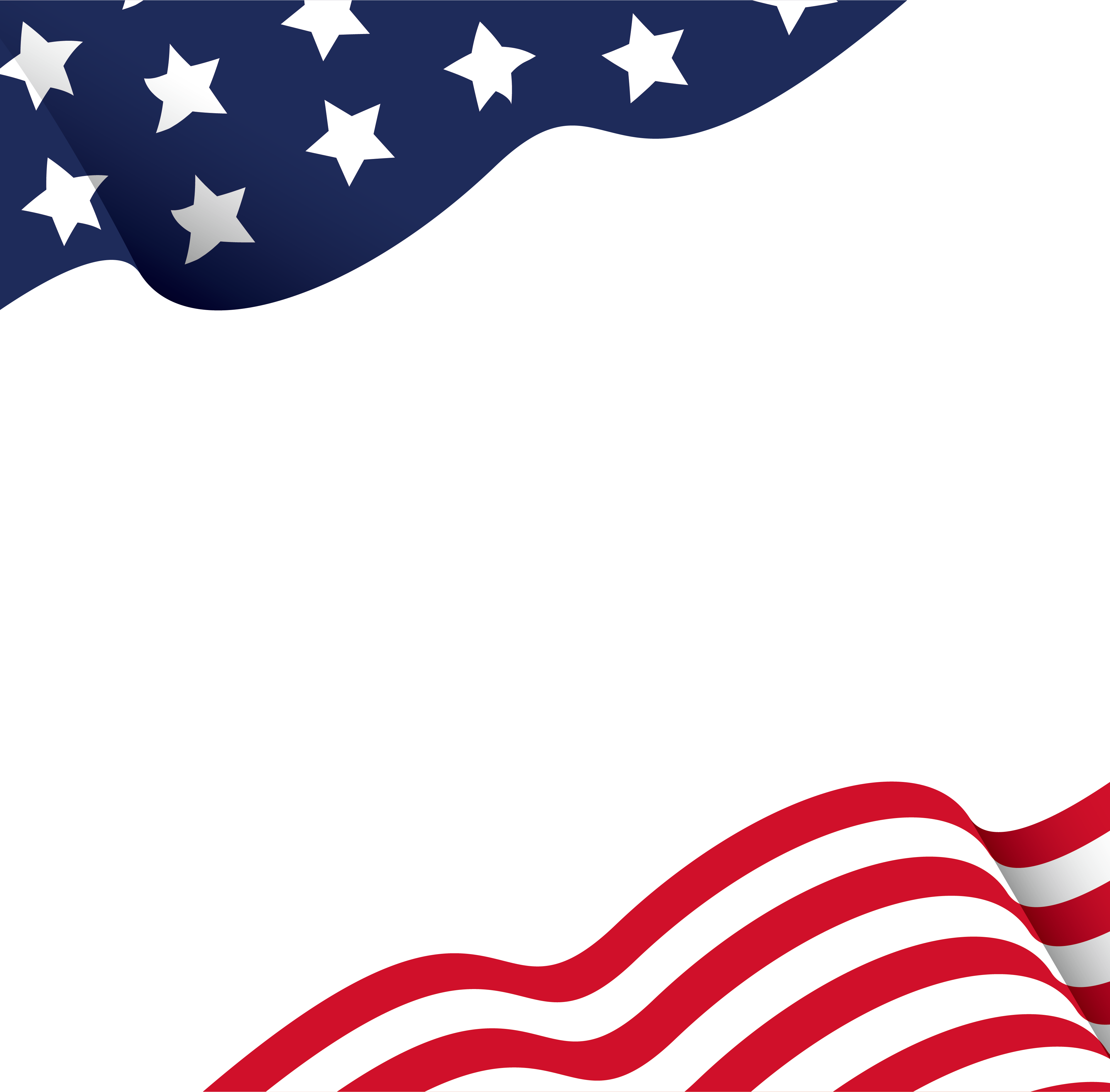 Flag of the United States Independence Day.