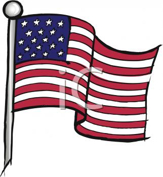 Us Flag Clipart.