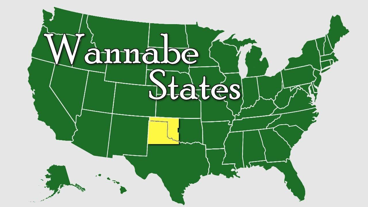 Wannabe States of the United States.