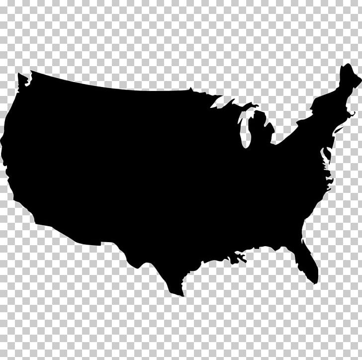 United States Map PNG, Clipart, Art, Black, Black And White.