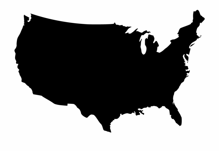 United States Map Vector Png.