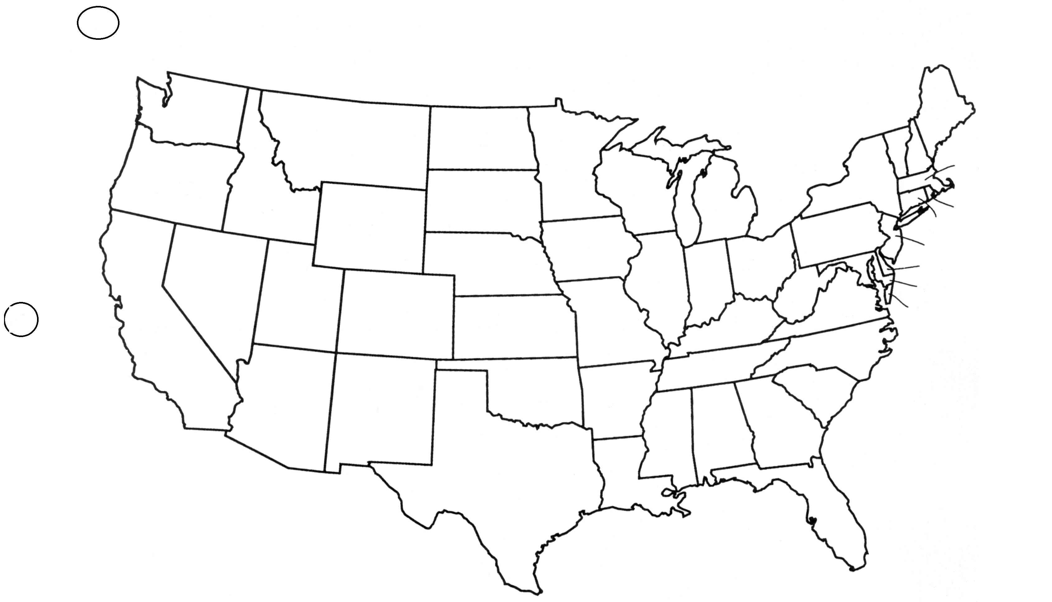 641 Us Map free clipart.
