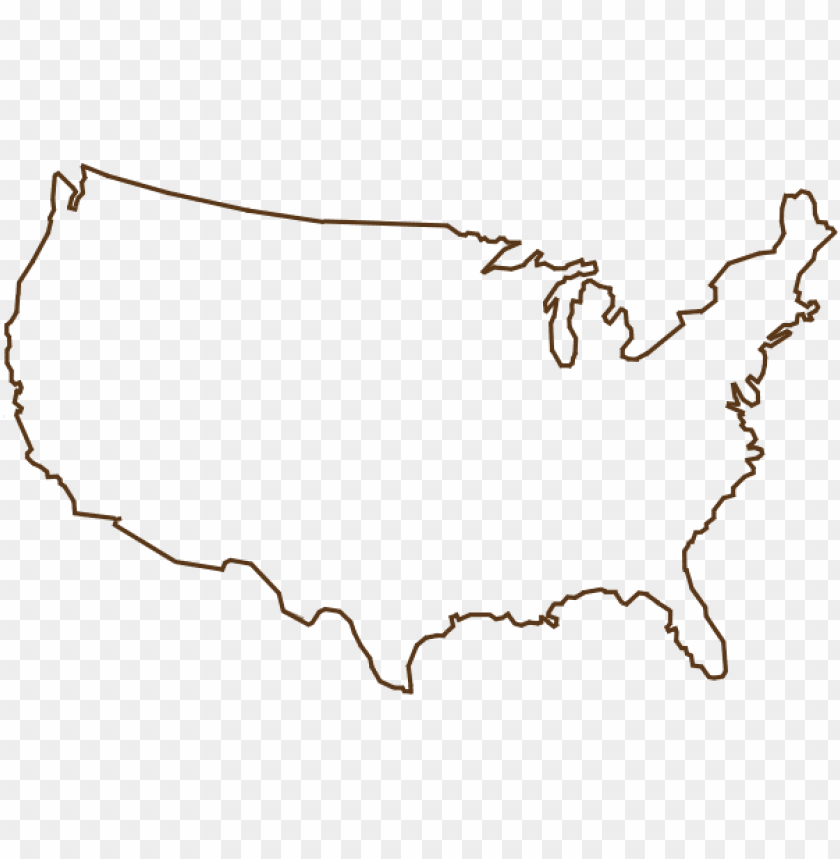 united states outline png.