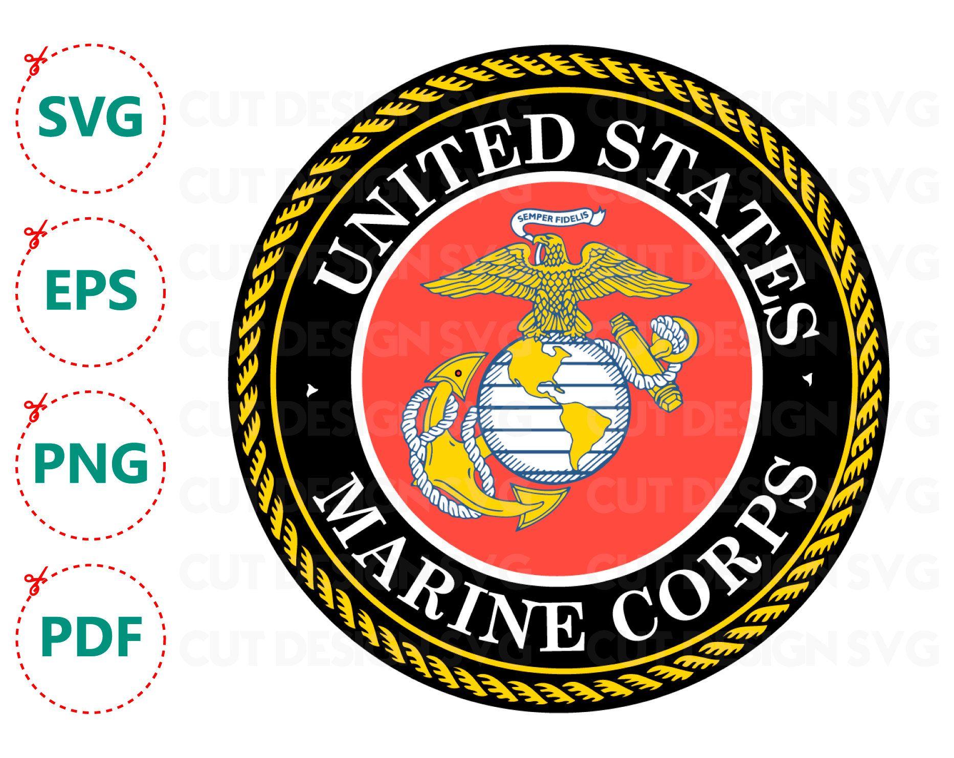 Marine Corps logo svg Marine Corps svg marine svg marine.