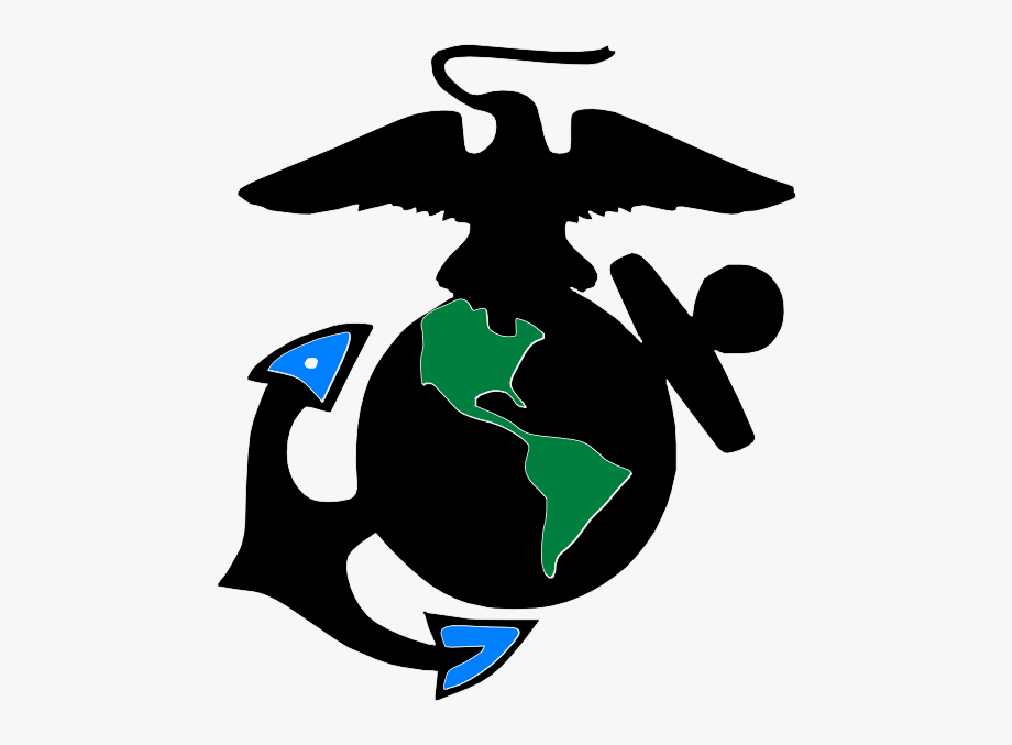Marine Corp Emblem Clip Art.
