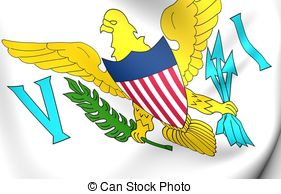 Flag of united states virgin islands Illustrations and Clip Art.