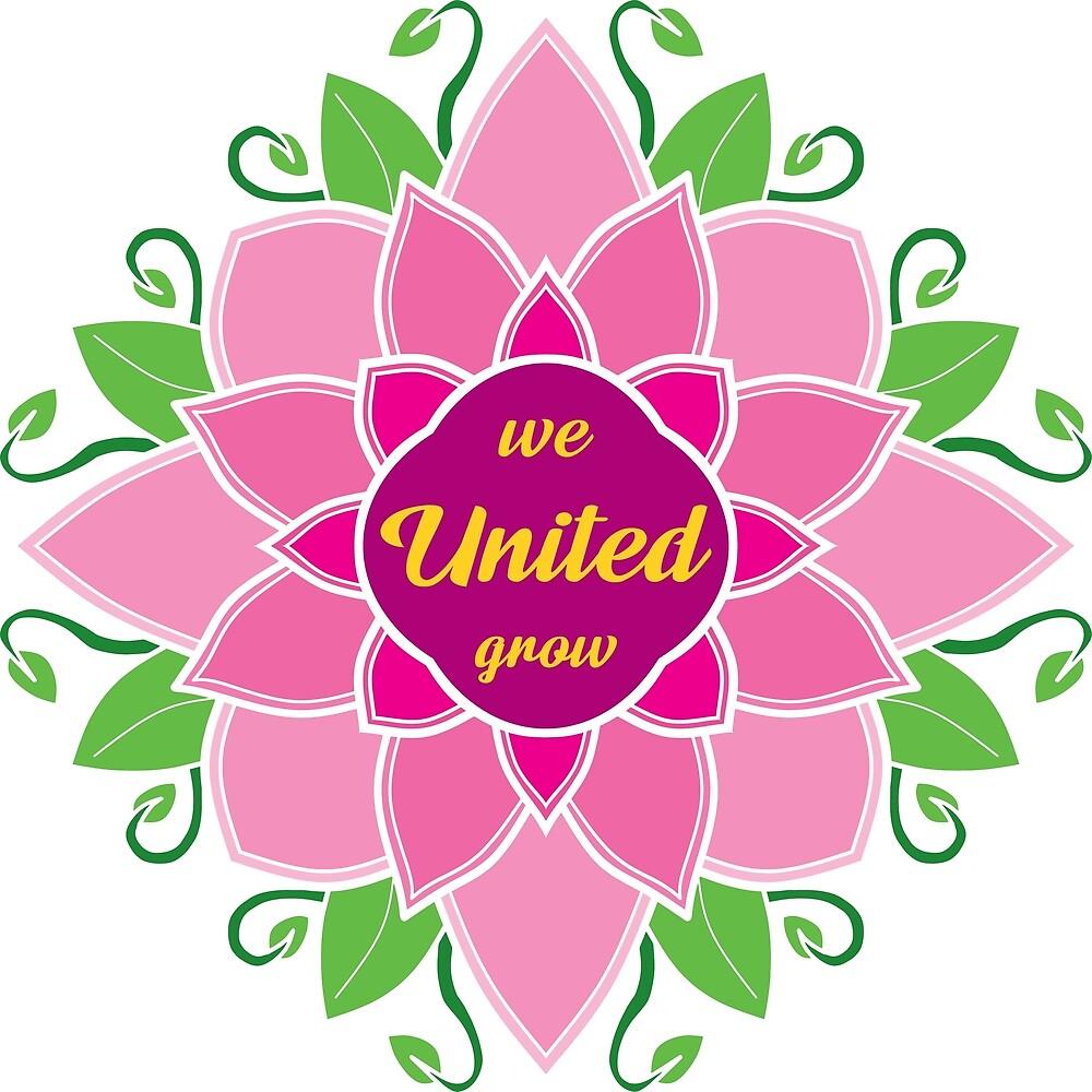 United we grow Mandala\