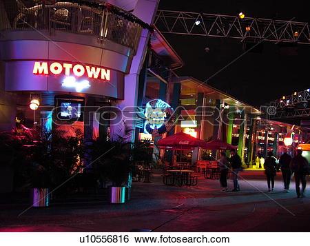 Stock Images of Orlando, FL, Florida, Universal Orlando Resort.