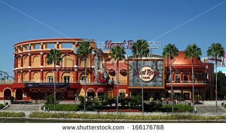 Orlando City Stock Photos, Royalty.