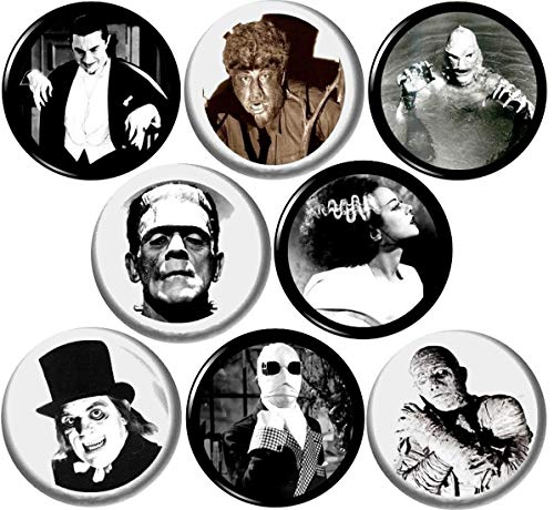 Universal Monsters Set of 8 New 1\