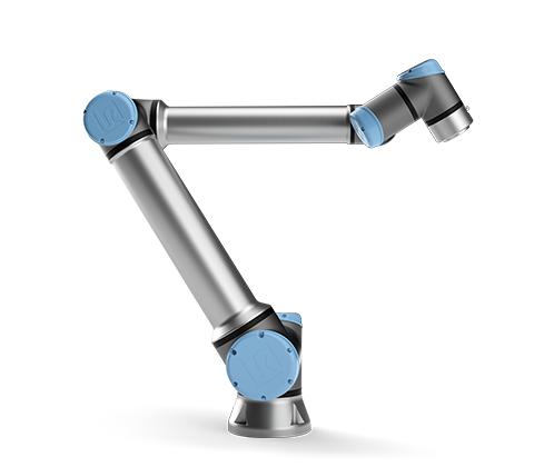 UR10 Collaborative industrial robotic arm.