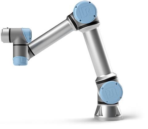 UR5 collaborative robot arm.