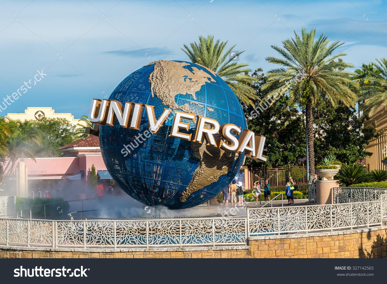 Orlando Usa August 27 2015 Universal Stock Photo 327142565.