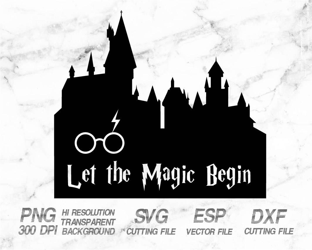 Harry Potter Castle Clipart.