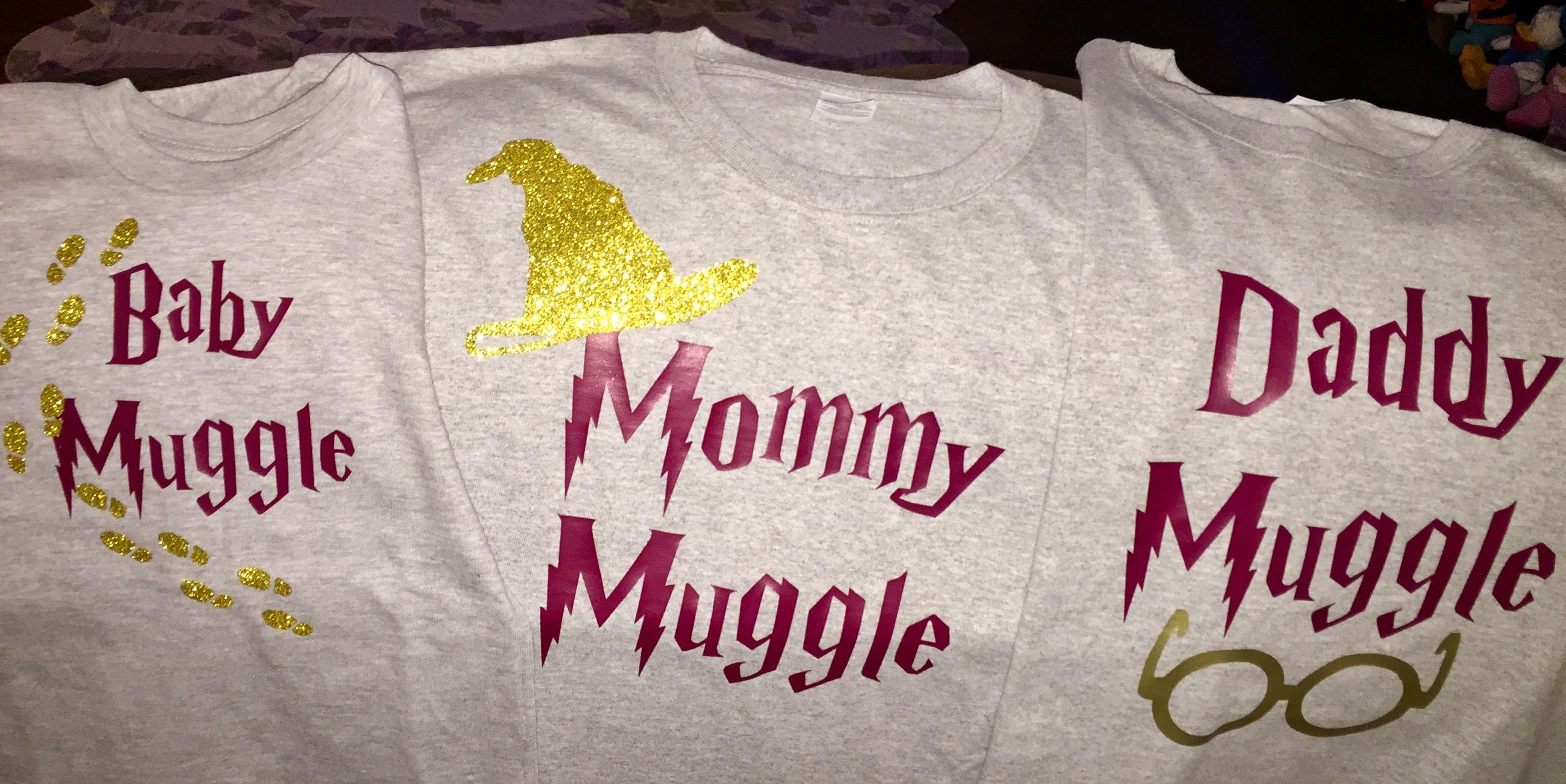 Harry Potter Family Matching Shirts Universal Orlando.