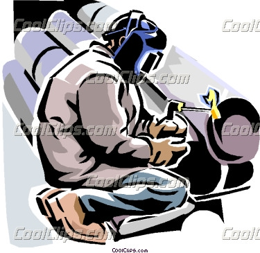 Pipe welding clipart.