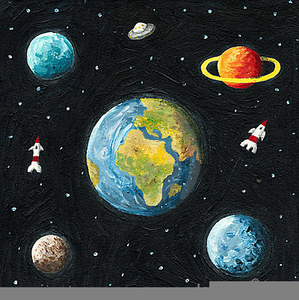 Clipart Of The Universe.