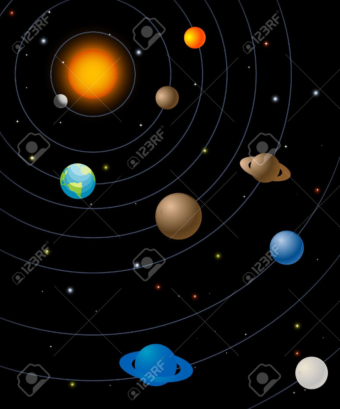 Clipart Of Universe.