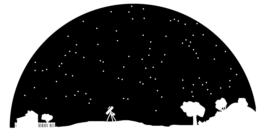 Universe clipart black and white.