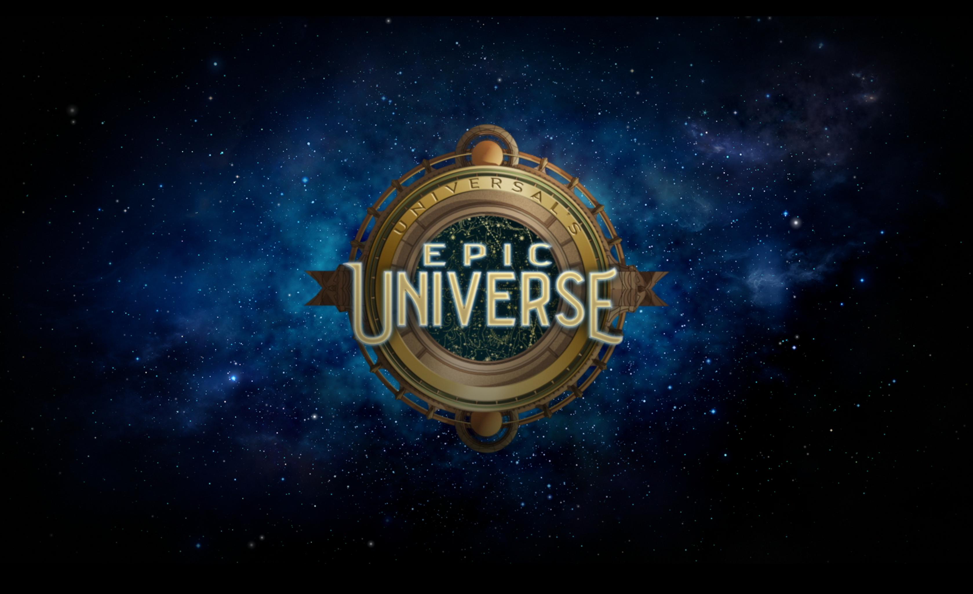 Epic Universe logo.
