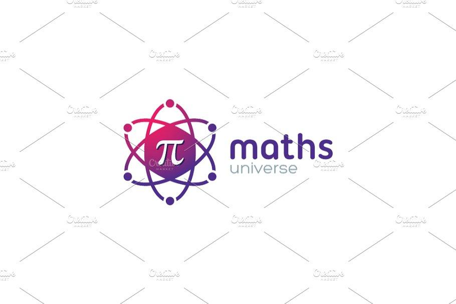 Pi Math / Mathematics Universe Logo ~ Logo Templates.