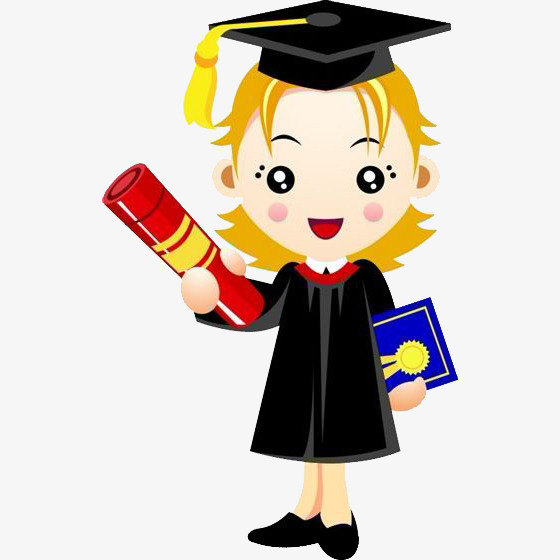 890 College Student free clipart.