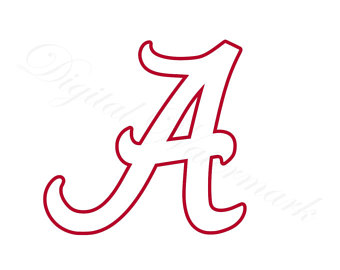 University Of Alabama Logo Clipart.