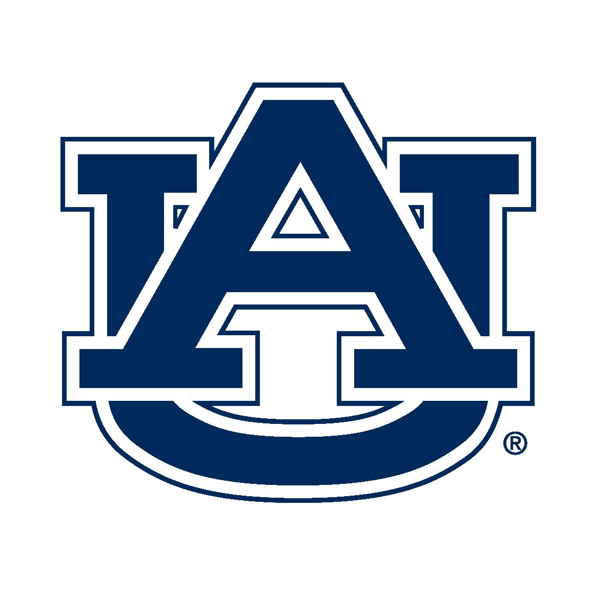 Image result for Auburn university AU logo.