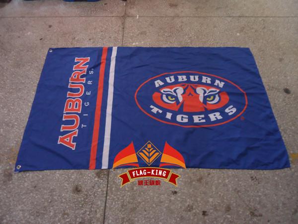2019 100%polyester,90*150cm,University Of Auburn College Banner,Digital  Printing,Auburn Logo Educational Institution From Sbifk20131410, $9.86.
