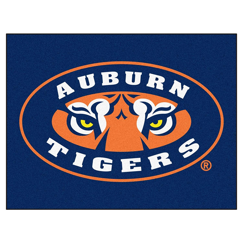 Amazon.com : Auburn University Tigers Logo Area Rug : Sports.
