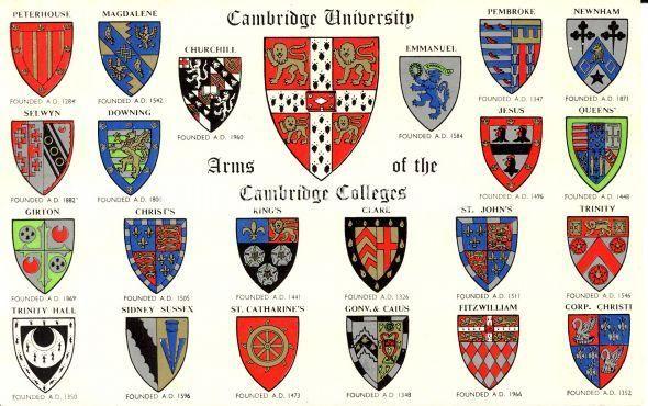 university heraldic logo.