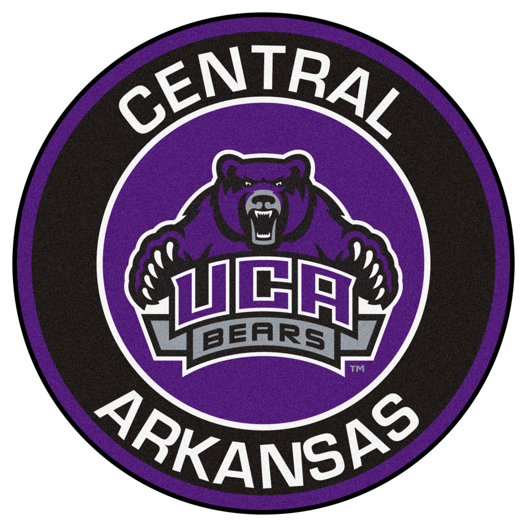 University of Central Arkansas Logo Roundel Mat.