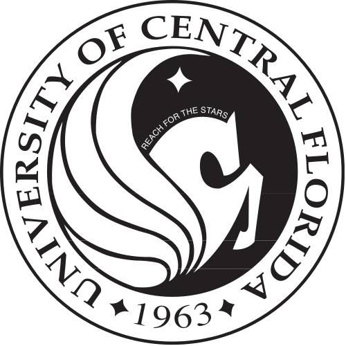 UCF University of Central Florida Knights seal.