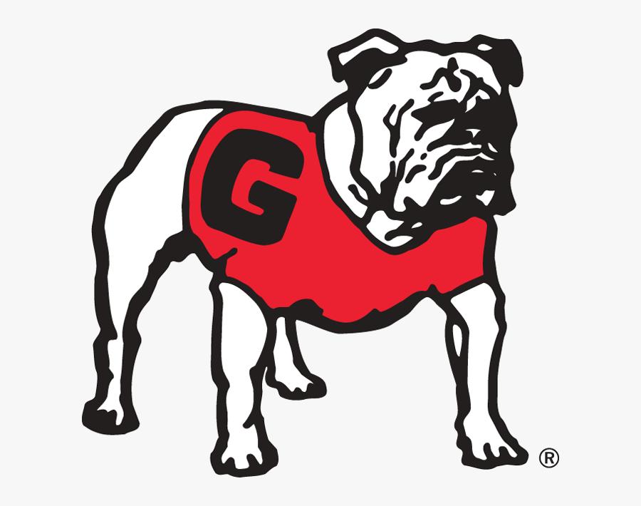 Georgia Bulldog Football Logo Free Best On Transparent.
