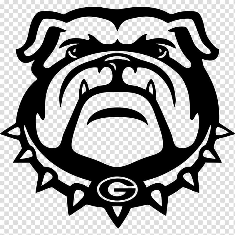 Georgia Bulldogs football transparent background PNG.