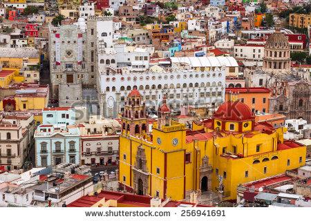 Guanajuato City Stock Photos, Royalty.