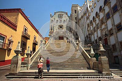 University Of Guanajuato Royalty Free Stock Photos.