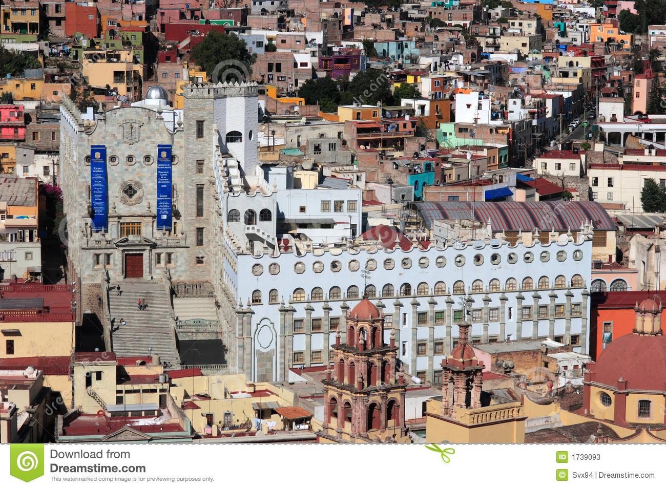 University Of Guanajuato, Mexico. Royalty Free Stock Photo.