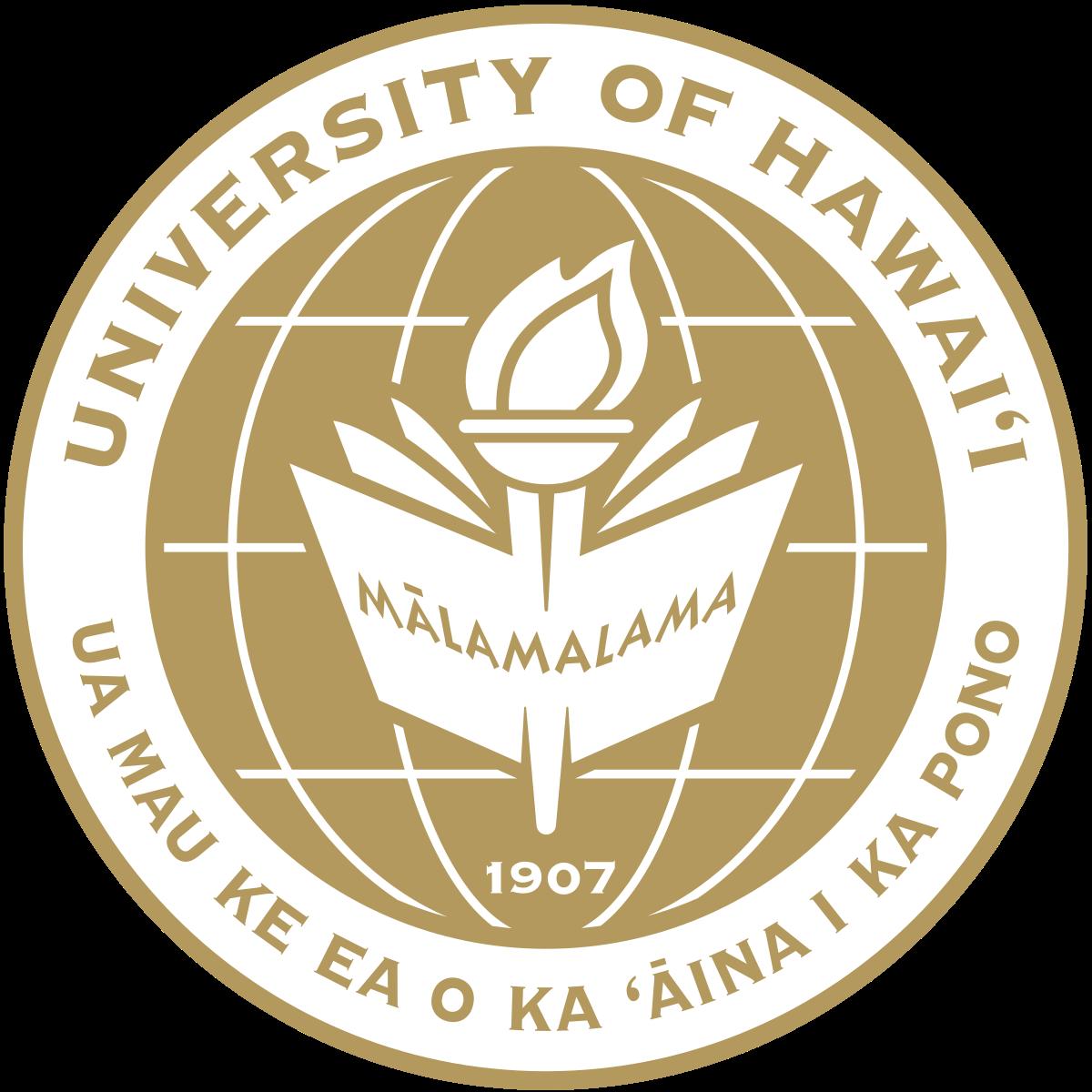 University of Hawaii.
