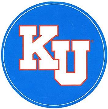 Amazon.com: 3 inch KU Decal University of Kansas Jayhawks.