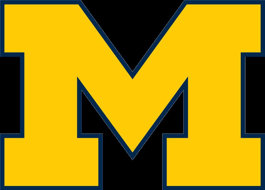 File:Michigan Wolverines Block M.png.