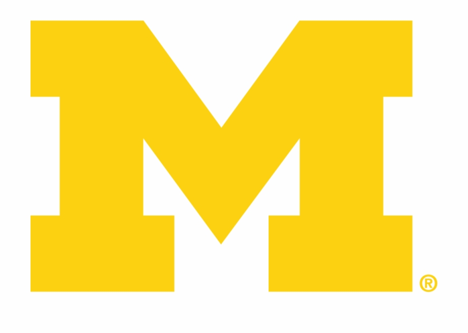 Michigan Wolverines Logo.