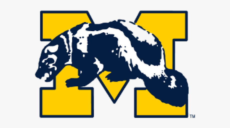 University Of Michigan Wolverine Logo, Cliparts & Cartoons.