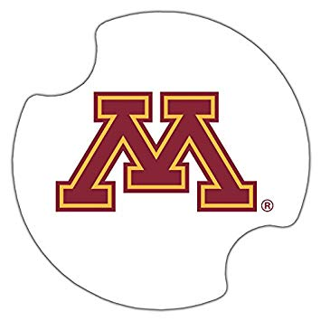 Thirstystone University of Minnesota Car Cup Holder Coaster, 2.